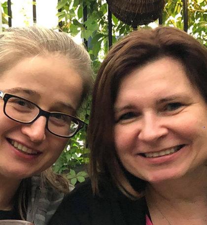 Katarzyna Choroszy i Karina Frejlich